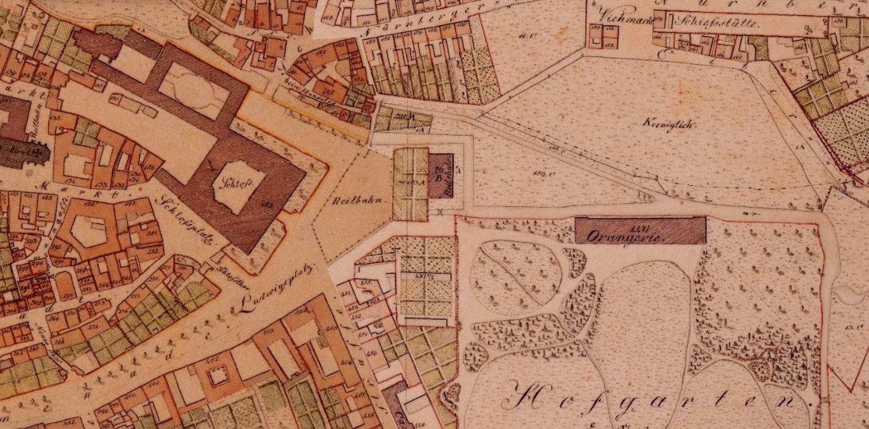 Alte-Karte-Hofgarten