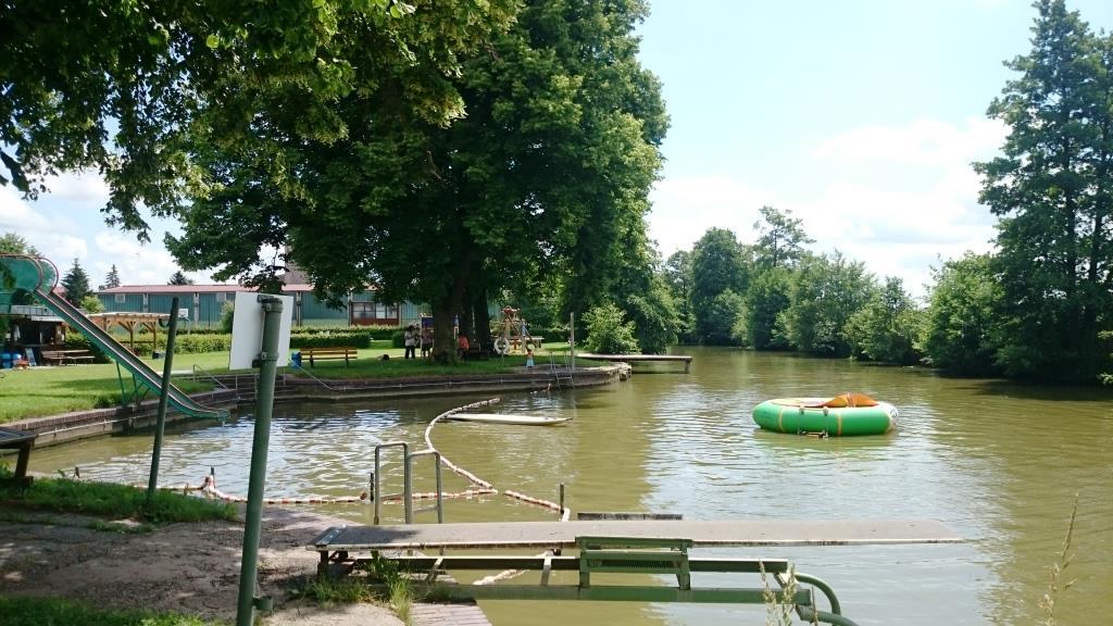 Flussbad Leutershausen Schwarzer Bock Ansbach