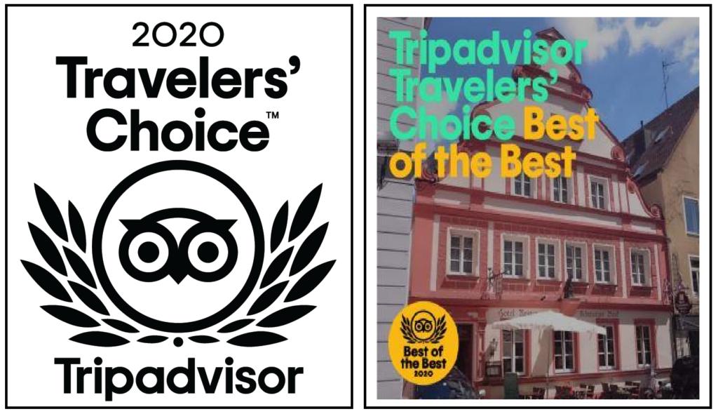 Tripadvisor Travellers Choice 2020 SchwarzerBock