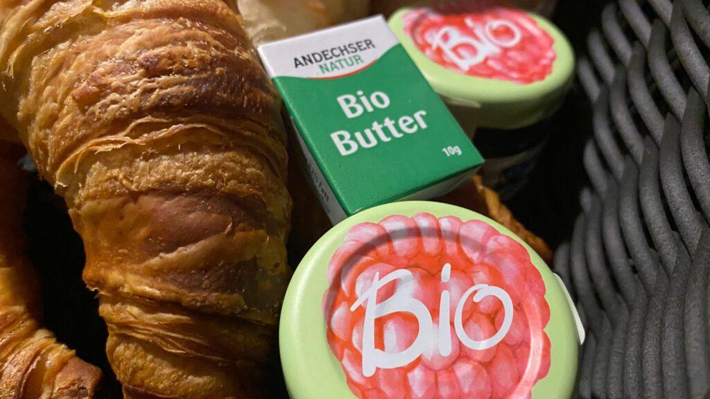 Nachhaltig Frühstück im Bio Boutiquehotel Schwarzer Bock Ansbach