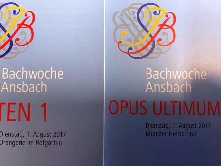 Bachwoche 2021 Schwarzer Bock zu Ansbach